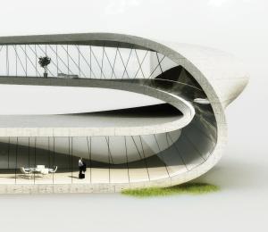 Project: Landscape House - Universe Architecture (Facebook)