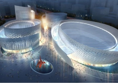 Centro Cultural y de Rendimiento Chengdu Tianfu Imagen: Architizer - eleconomista.es
