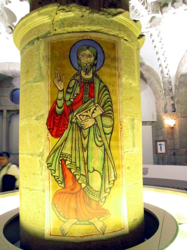 Detalle del interior de la muestra dedicada al Códice Calixtino, Catedral de Santiago de Compostela - Foto: Dario Alvarez, Octubre 2012