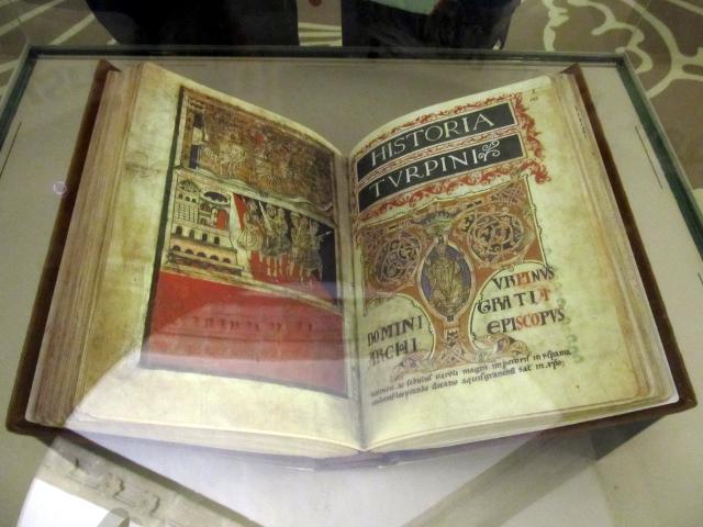 El Códice Calixtino, expuesto en la Catedral de Santiago de Compostela - Foto: Darío Álvarez, octubre 2012