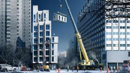 AYUNTAMIENTO DE NUEVA YORK / Recreación de la construcción de los nuevos apartamentos - ABC.es
