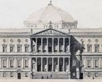 De pasadizo a palacio. Las casas de la Biblioteca Nacional - Madrid, España