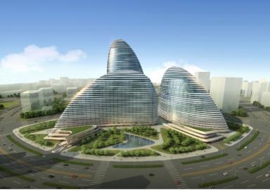 Wangjing SOHO Imagen: Zaha Hadid Arquitectos / ElEconomista.es