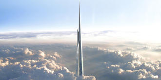 Kingdom Tower will be the world's tallest building, standing over 1km in height. Mace.