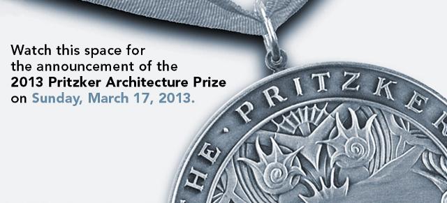 Esperando al Premio Pritzker 2013 - conoceremos al ganador, oficialmente, este domingo 17 de marzo - www.pritzkerprize.com