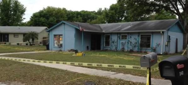 Fotografía del lugar del mortal incidente, cedida por el Departamento de Bomberos del Condado de Hillsborough (Florida) EFE / 20minutos.es