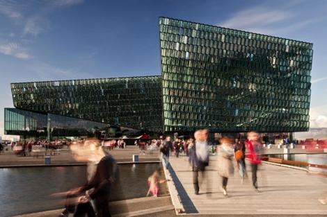 Centro de congresos Harpa de Reykjavick. ElMundo.es