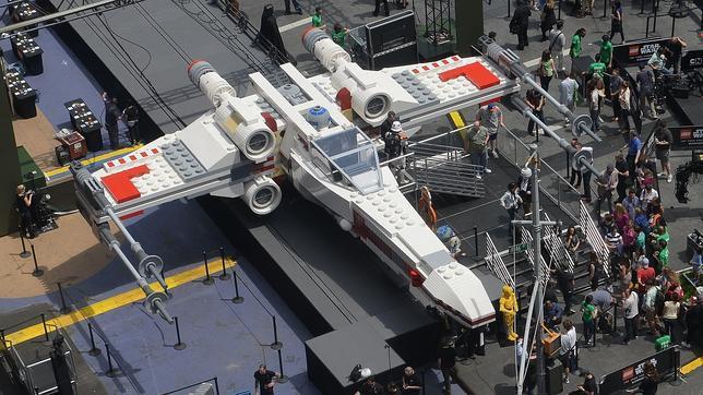 El mayor modelo de Lego construido nunca es una nave de «Star Wars» - ABC.es