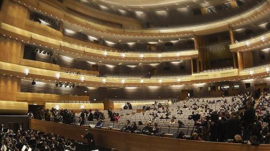 Interior de la sala del Teatro Mariinsky II - El Mariinsky extiende su imperio - ABC.es