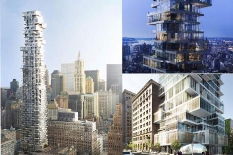 Recreaciones virtuales del 56 Leonard Street de Nueva York. | E.M.