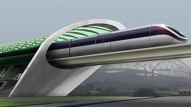 33RDSQUARE/GOOGLE+ El concepto gráfico de lo que podría ser el Hyperloop de Elon Musk - ABC.es, Tecnología