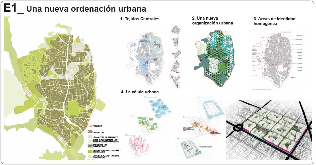 Plan Estratégico para el Área Central: Proyecto Madrid Centro  Madrid, España  José María Ezquiaga Domínguez, Salvador Pérez Arroyo, Juan Herreros Guerra. XII BEAU