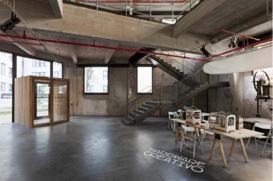 Medialab-Prado  Madrid, España  Langarita-Navarro arquitectos (María Langarita y Víctor Navarro) XII BEAU
