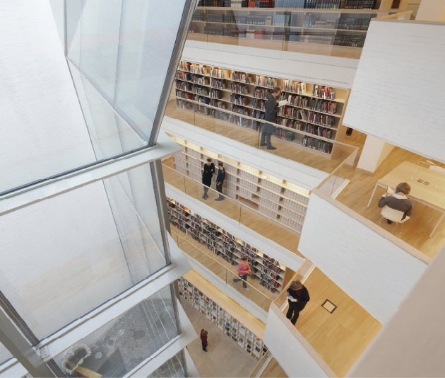Nueva Biblioteca Hertziana. Max-Planck Institut. Roma / Premiados XIIBEAU