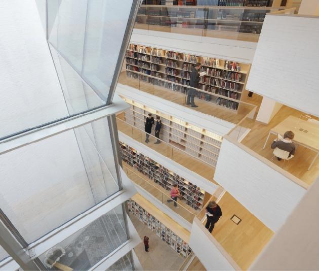 Nueva Biblioteca Hertziana. Max-Planck Institut. Roma  Roma, Italia  Juan Navarro Baldeweg - XII BEAU