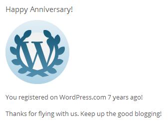 7 Años con ArquitecturaS gracias a WP.com