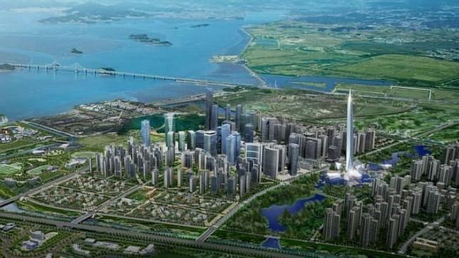 Corea del Sur construirá el primer rascacielos «invisible» del mundo - ABC.es