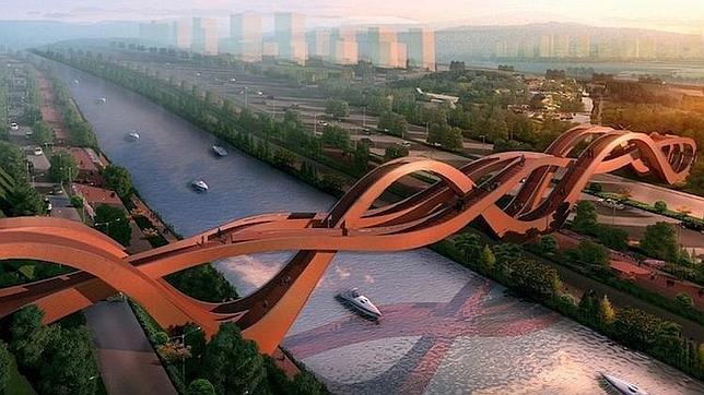 Construirán un puente basado en la cinta (sin fin) de Moebius - ABC.es
