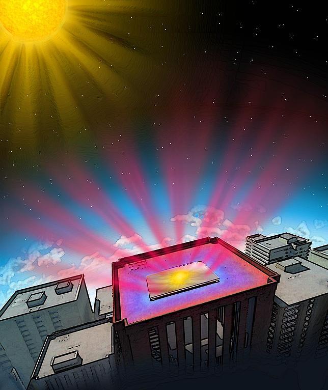 Fan Lab, Stanford Engineering El nuevo material radia el calor de los edificios y lo envía directamente al espacio  ABC.es
