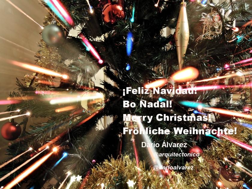 ¡Feliz Navidad!  Bo Nadal!  Merry Christmas!  Fröhliche Weihnachte!