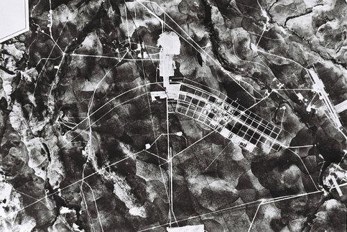 Brasilia under construction, 1957. Geofoto. Arquivo Publico do Distrito Federal   - MoMA