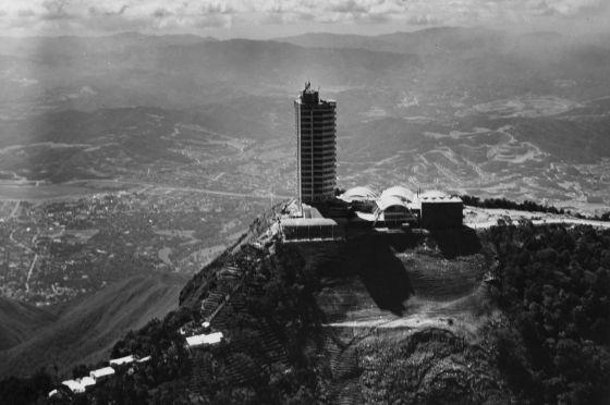 Hotel Hunboldt en Caracas, Venezuela. / FUNDACIÓN ALBERTO VOLLMER - ElPais.com