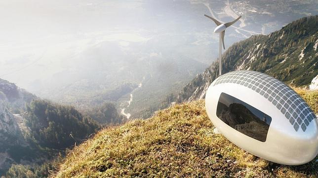 www.Ecocapsule.sk La vivienda de reducido tamaño puede instalarse en cualquier parte