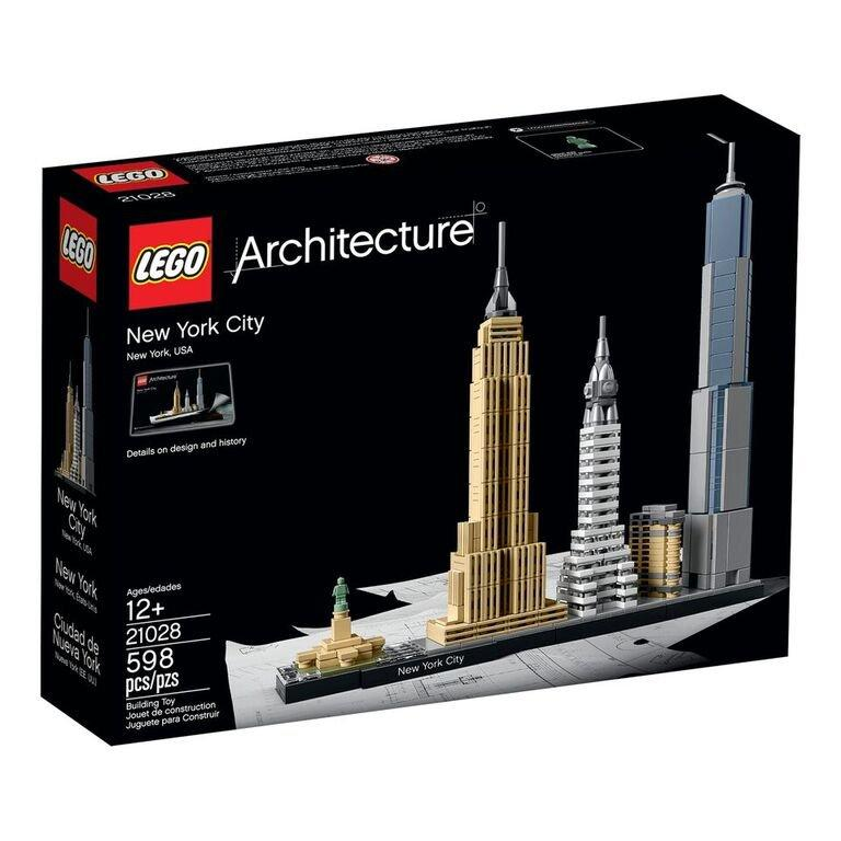 [LEGO's NYC skyline; all images by LEGO, via Gothamist] vía ny.curbed.com