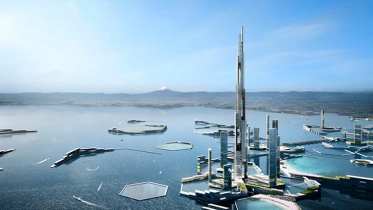 Sky Mile Tower: dos veces el Burj Khalifa, la torre más alta del mundo se construirá en Tokio(Fotos)