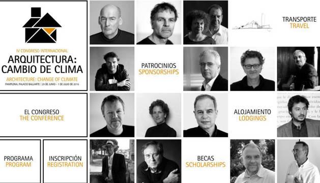 """Arquitectura – Pamplona acogerá en junio el IV Congreso Internacional de Arquitectura con un programa """"estelar"""": """"Cambio deClima"""""""