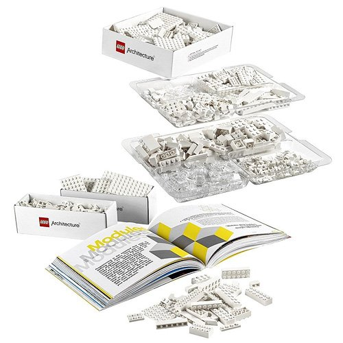 LEGO - Architecture Studio.. Juego de construcción (21050) Contenido.