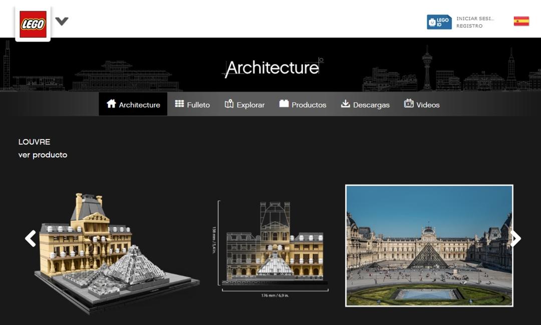 Louvre - Lego Architecure