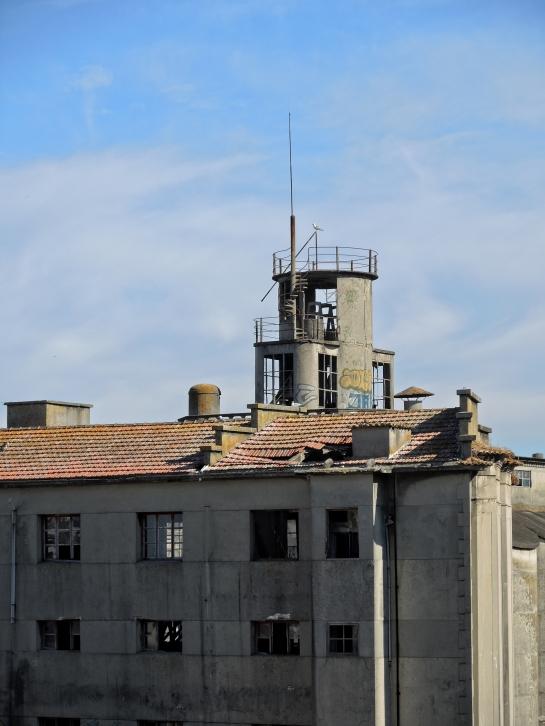 La Panificadora de Vigo, en su estado de abandono actual (Foto: Darío Álvarez, 2016)