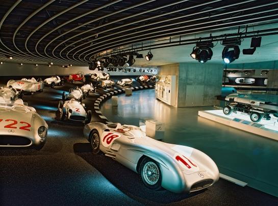 Foto: web del Mercedes-Benz Museum ©Daimler AG