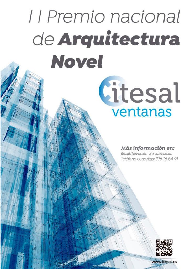 Itesal, la empresa zaragozana referente en el diseño, fabricación y distribución de sistemas y soluciones de aluminio para arquitectura e industria, ha abierto las bases de la convocatoria de su II Premio de Arquitectura Novel.